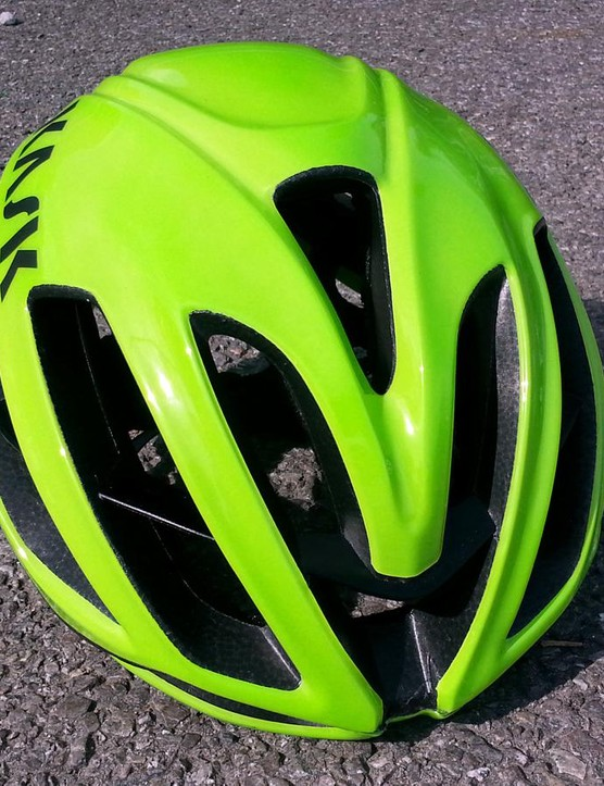 Kask says the Protone has among the fastest heat dissipations and lowest drag co-efficients of any ventilated helmet
