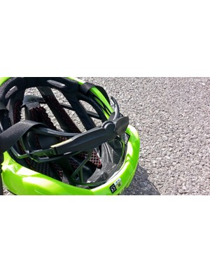 The retention system is the same as the Kask Infinity with multiple adjustable sections
