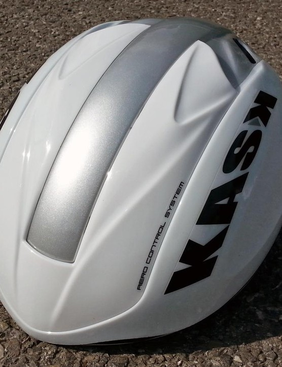 With the shield down, it's an aero helmet with only two tiny vents open to the wind