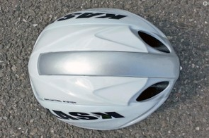 From the top it's a smooth, aero shape that's very slightly elongated at the rear