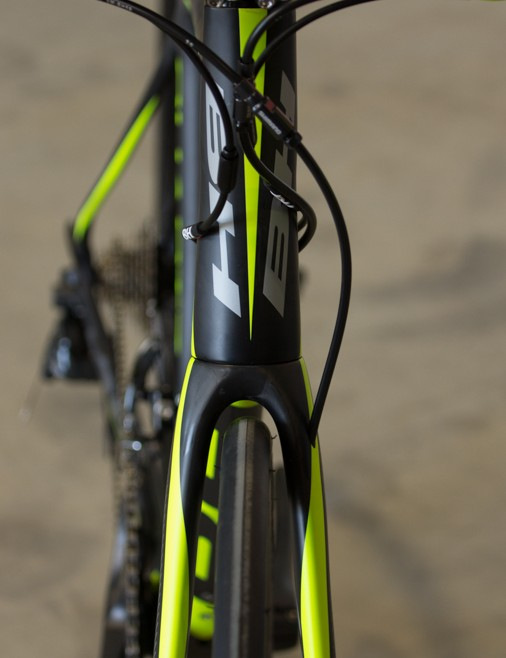 The Quartz Disc still offers a performance ride. An example is the wind-cutting profiles of the fork