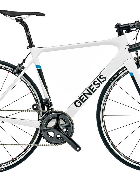 The Genesis Zeroi comes with Ultegra D12 and will set you back £2,999.99