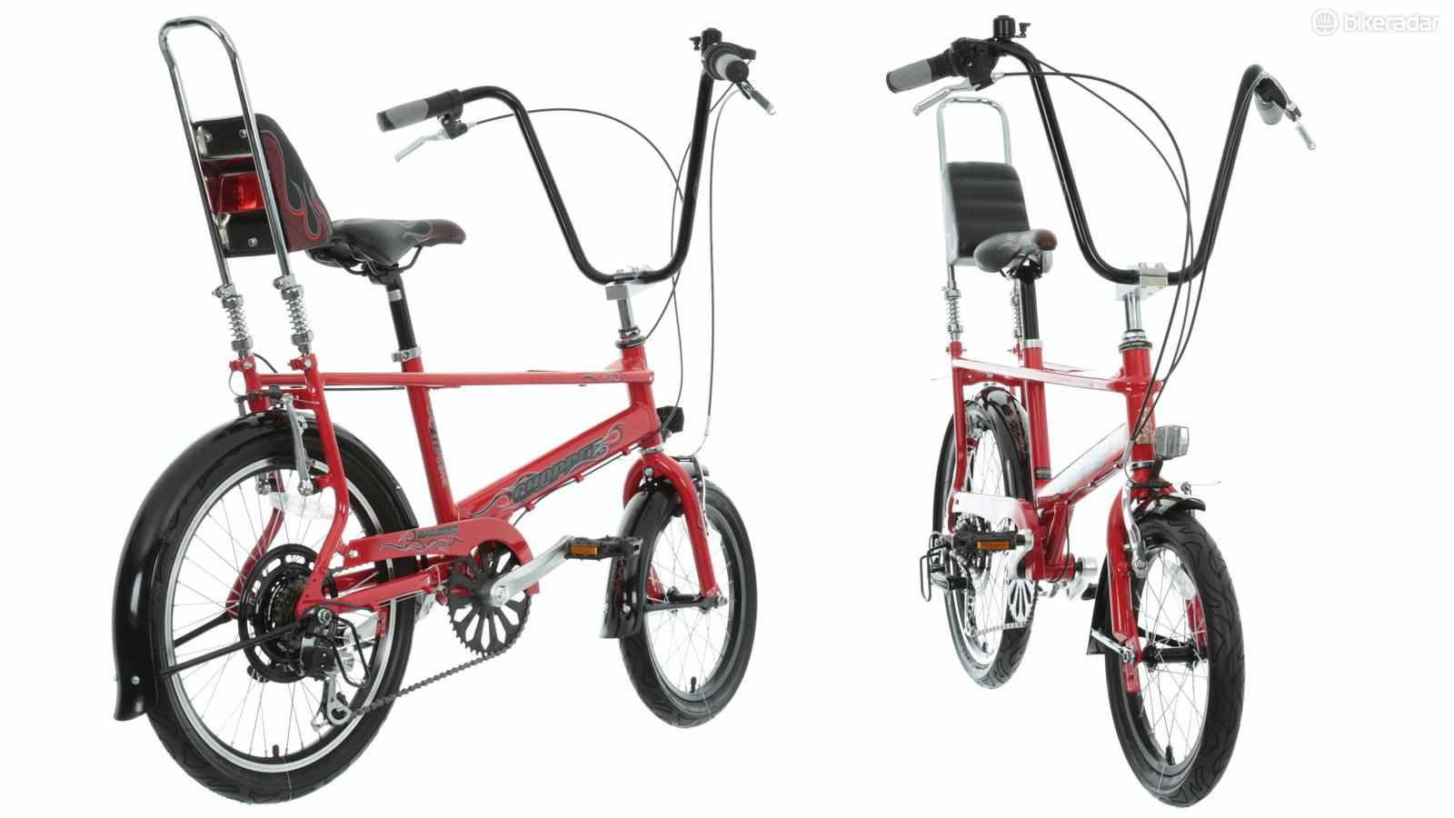 The Raleigh Chopper is one of the most iconic bike designs of the 20th century