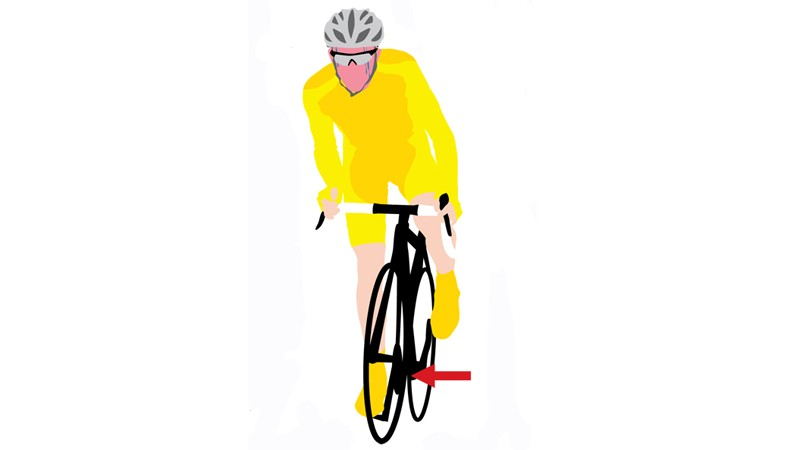 Your pedalling cadence should be around 100rpm. Any lower and you're probably in too high a gear