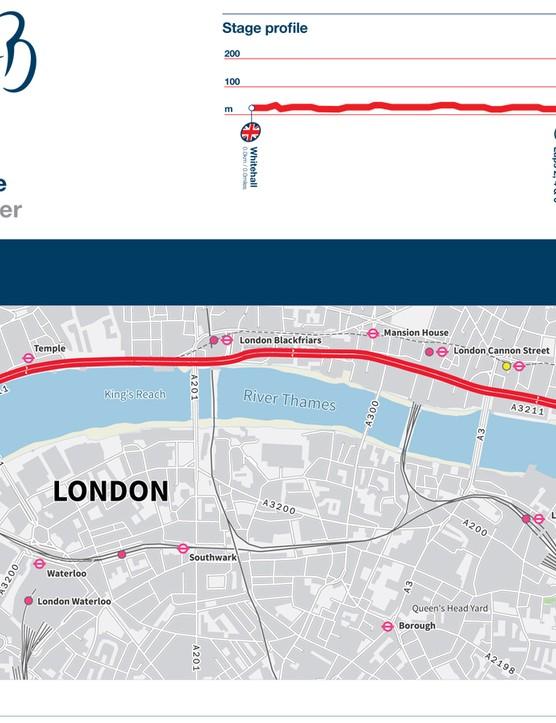Stage 8B: London circuit race