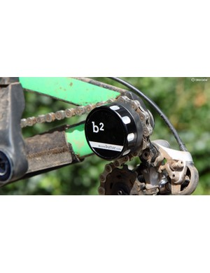 Butter's new b2 chain keeper is designed for use on thru-axle rear ends