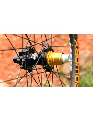 Our Enduroworx test wheels came built around Hope Pro 2 EVO hubs