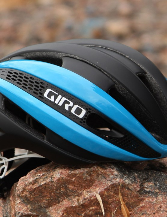 Giro says the new Synthe is the ultimate one-solution road helmet, boasting the aerodynamic performance of the Air Attack with the ventilation of the Aeon