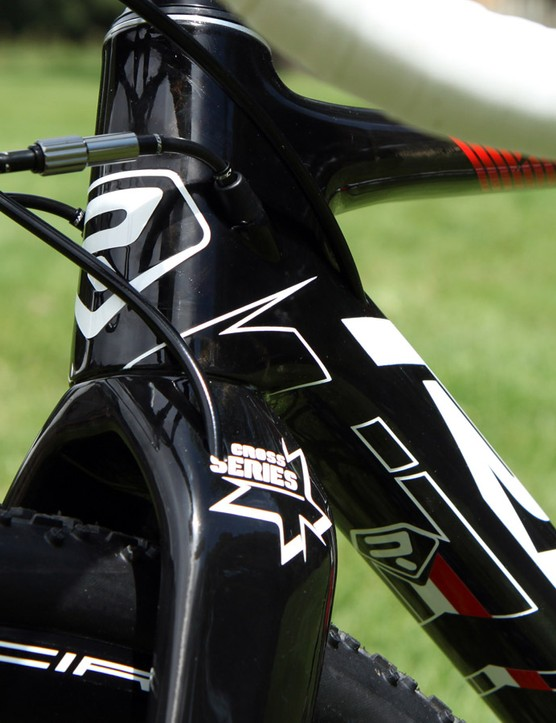 Cable routing is fully internal on the latest Ridley X-Night