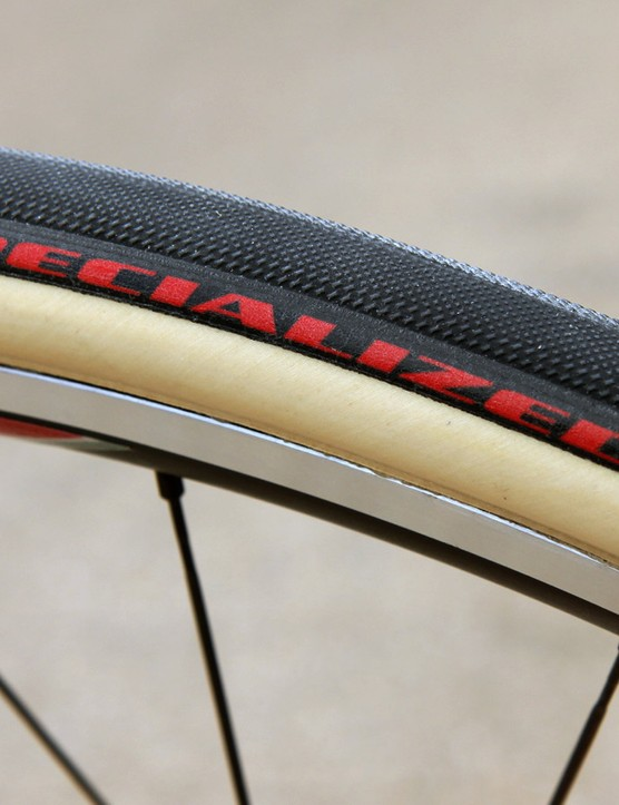 Specialized teamed up with famed French tubular maker FMB for the Turbo Classics, which were used by Specialized-sponsored teams during the Tour of Flanders and Paris-Roubaix