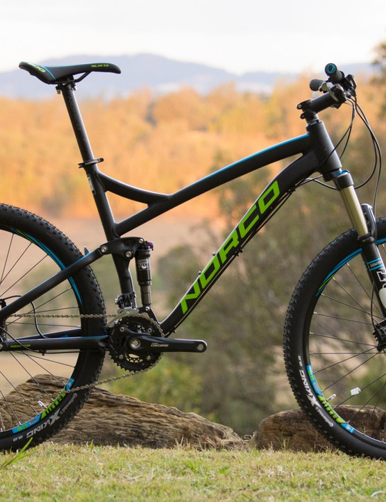 No frame changes for 2015, the 120mm, 650B and 29in Fluid range continues with affordable options starting as low as AU$1,799. Pictured is the 650B Fluid 7.1 (US$TBC / AU$2,799 / £TBC)