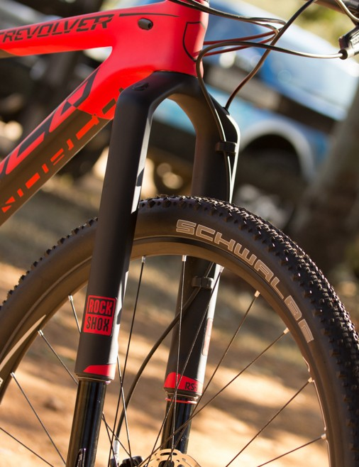 For 2015, it seems most top-end cross race bikes feature a RockShox RS-1 fork