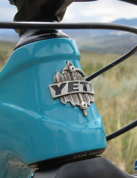The Yeti ASRc has an appreciably short head tube —just 90mm in the case of a medium