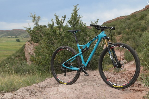 Yeti is stepping back into the cross-country race scene with the new ASRc