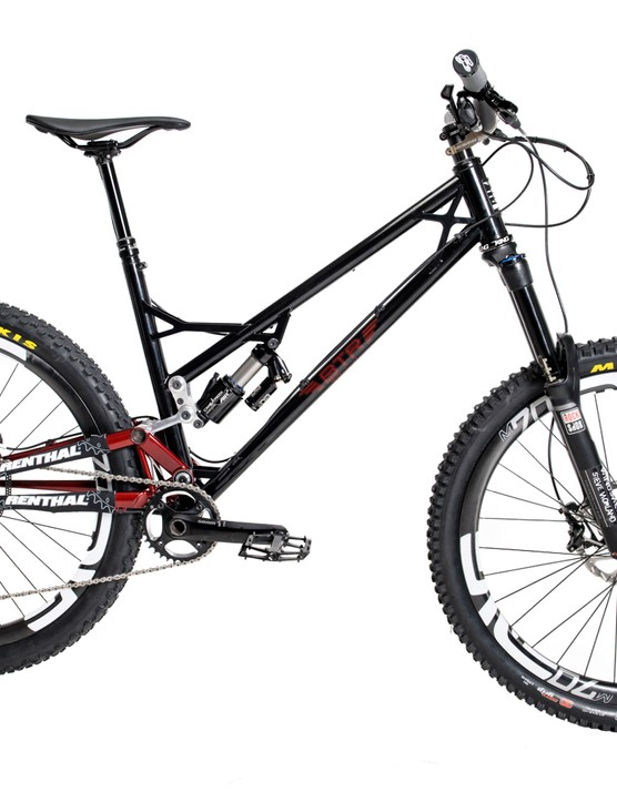 Equipped with a smothering of Enve, SRAM, Renthal, Cane Creek and Chris King, the Pinner is one expensive bike