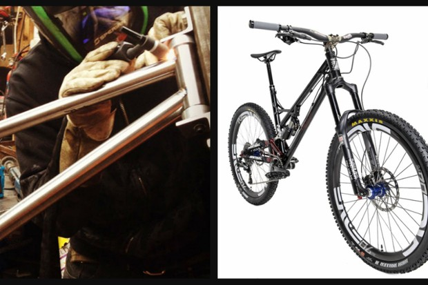 BTR Fabrications is a UK company run by two people who make frames that 'they would want to ride'