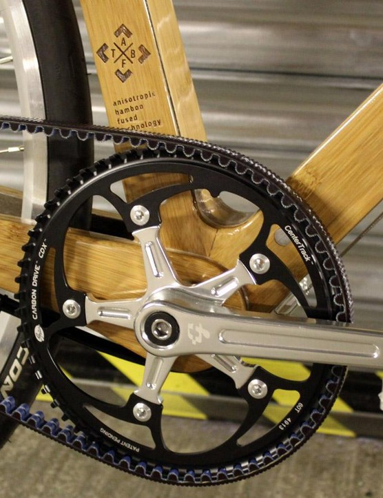 The Gates belt drive and NuVinci hub gear should make for a near-silent and maintenance-free transmission