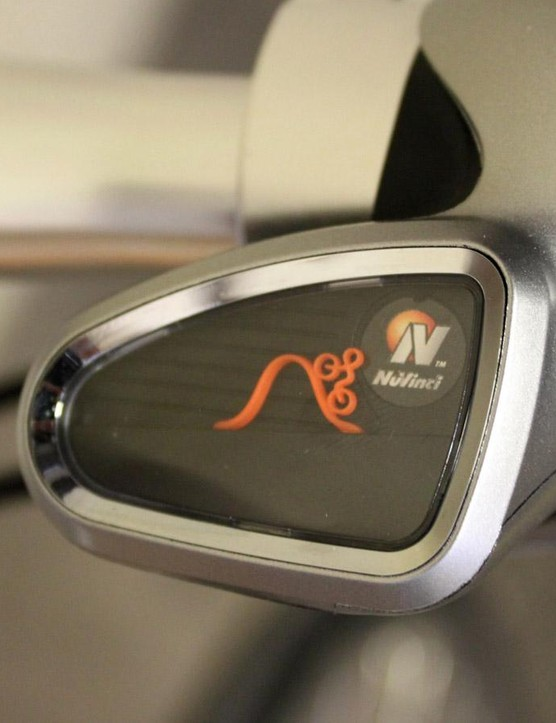Nuvinci's N360 transmission comes with this funky gear indicator