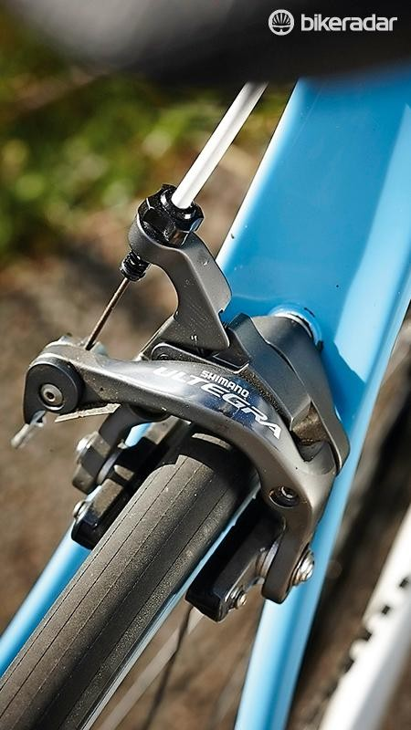 The Ritte comes with a complete Ultegra groupset