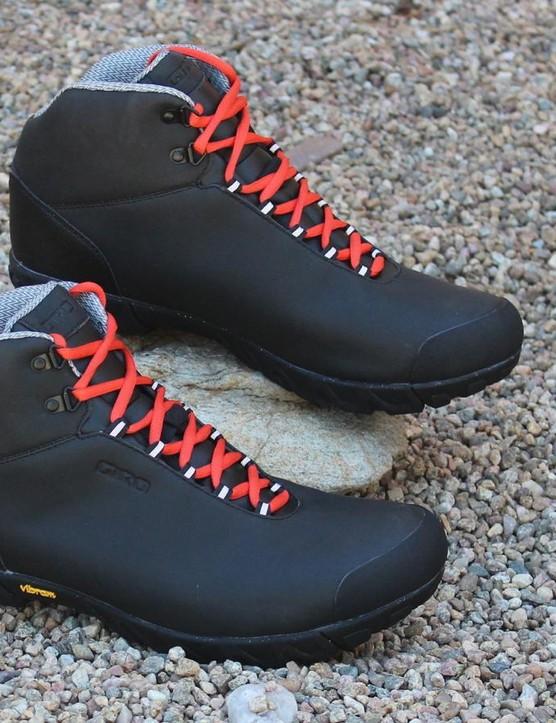 Giro Alpineduro mountain bike shoes blend hiking boots with MTB footwear