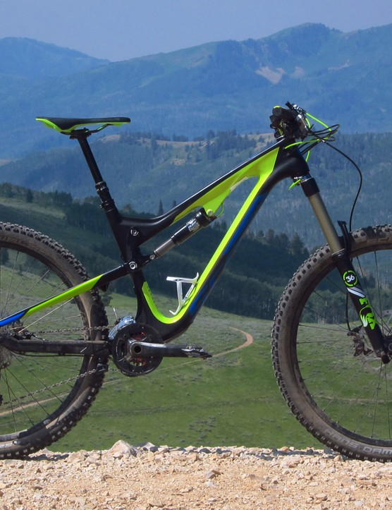 The Scott Genius LT 710 is at its best when pushed hard and fast