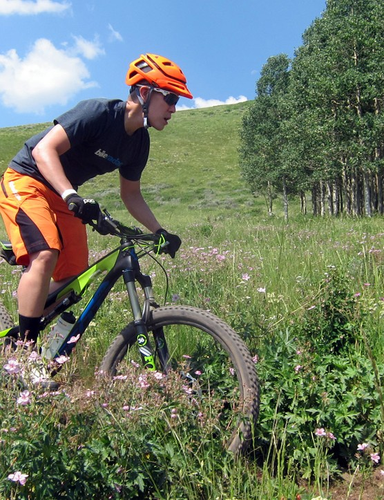 We lost count of how many runs we took with the new Scott Genius LT 710 in Deer Valley, Utah - and definitely had more fun the faster we went