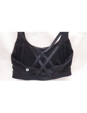 Lululemon is known for their decorative strap design on many of its bras and training tops