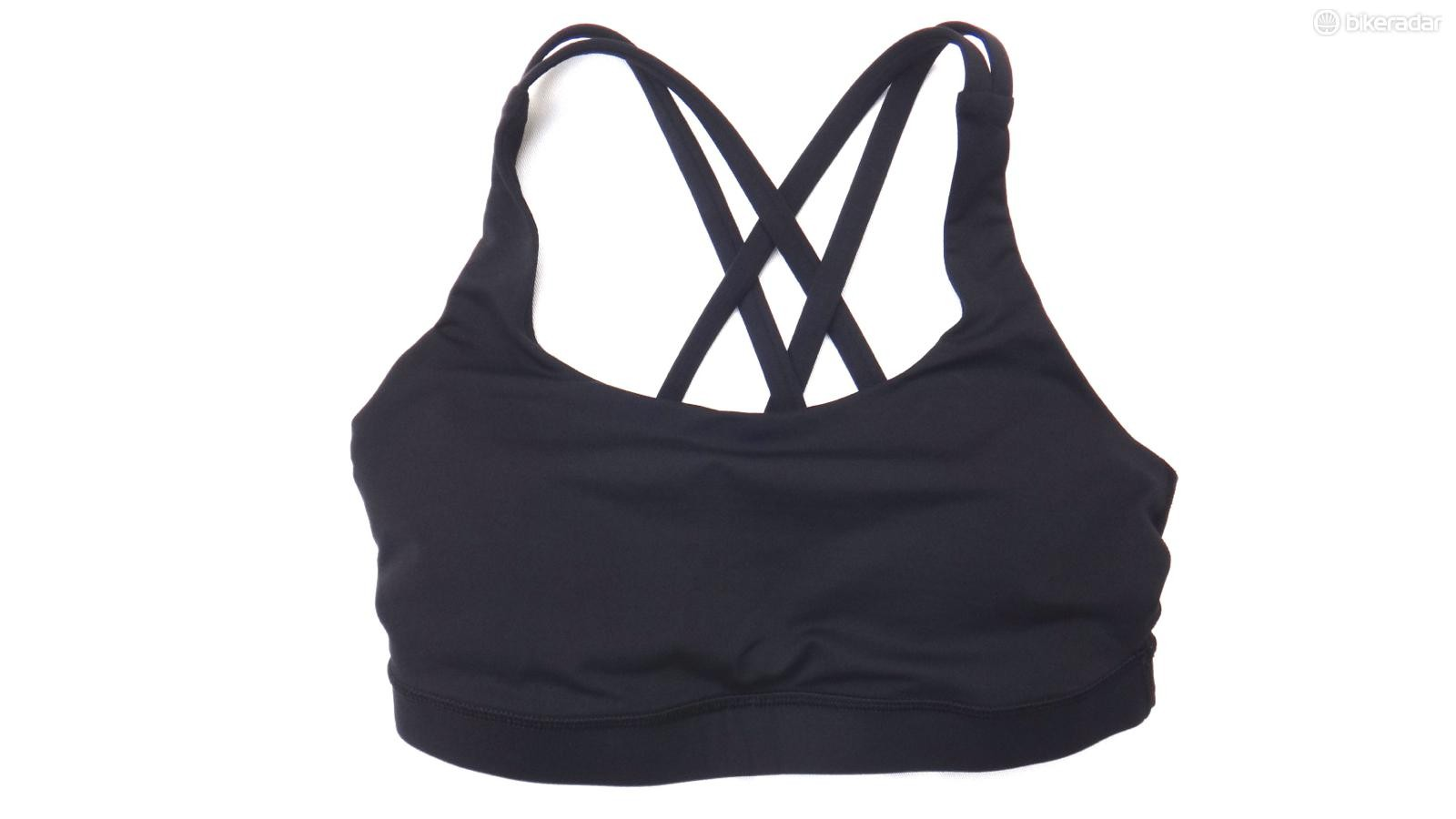 The Lululemon Energy bra is a great choice for smaller-busted women