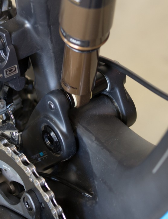 A closer look at the floating pivot and new forward shock position