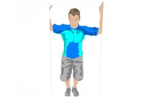 Shoulder/chest stretch