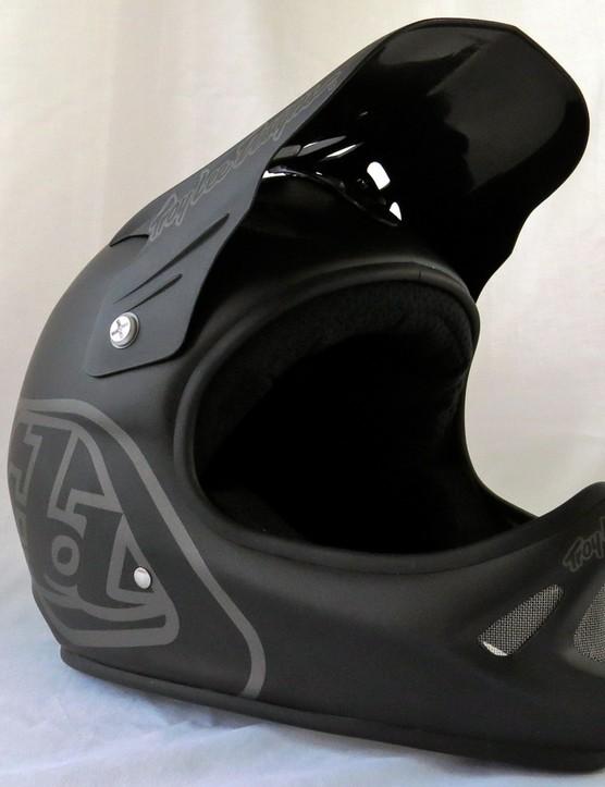 Troy Lee Designs D2 Midnight Matte Black helmet