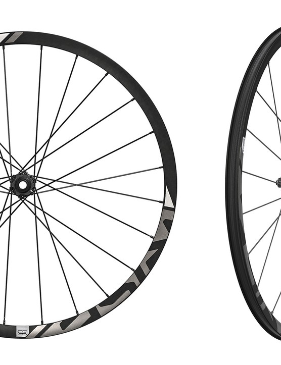 SRAM has overhauled its Rise 60 cross-country wheelset, adding a 27.5in option, increasing the internal width, and incorporating a new hookless carbon rim design