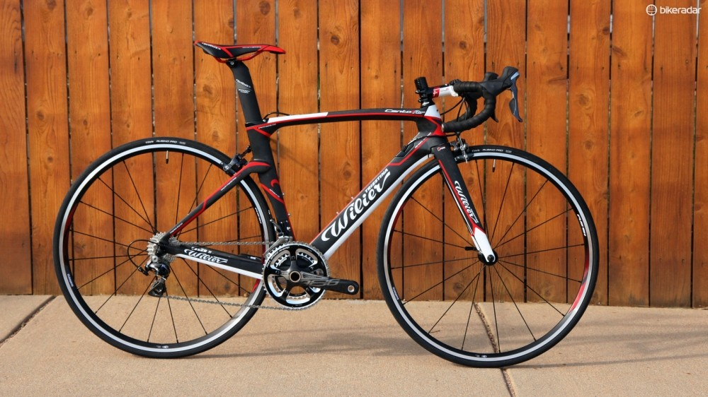 Wilier Triestina's Cento1AIR aero road bike borrows several design features from the TwinBlade TT bike