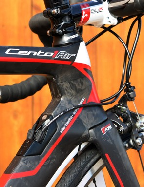 Truncated Kamm-tail tube profiles are littered throughout the Wilier Triestina Cento1AIR