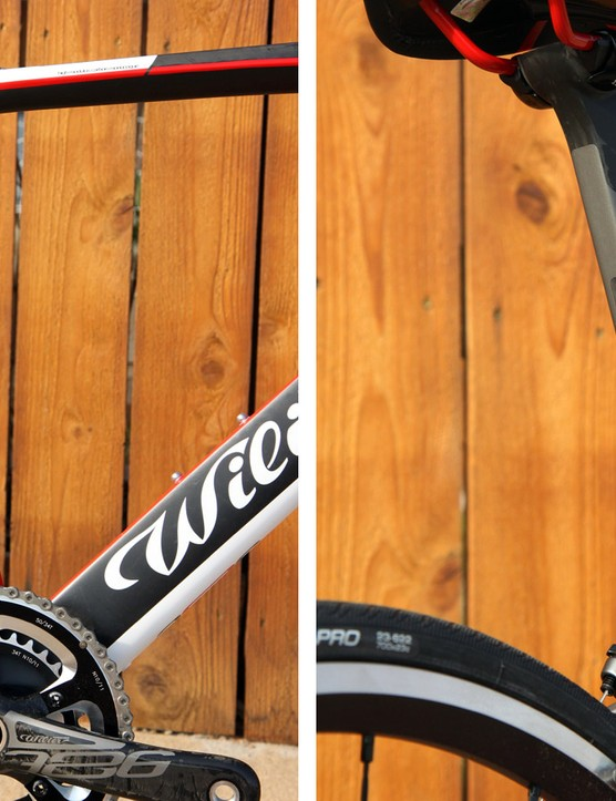 The seat tube profile is far deeper than what's used on the Cento1SR. Note the Kamm tail trailing edge, too