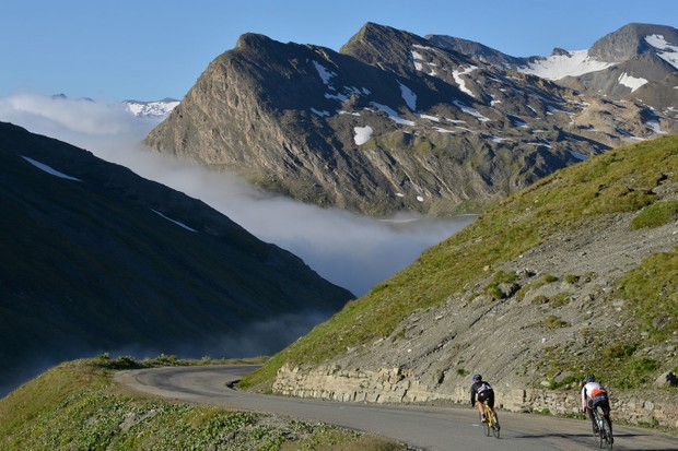The Haute Route is a very challenging and very beautiful multi-stage gran fondo
