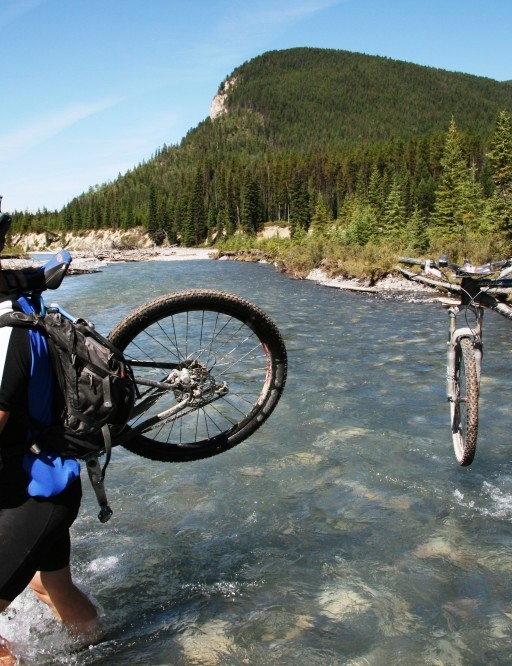 TransRockies - now called the Singletrack 6 - is a multi-day mountain bike adventure
