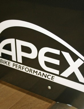 The Apex bike features a carbon shell while the custom cranks allow for different crank lengths depending on pedal installation