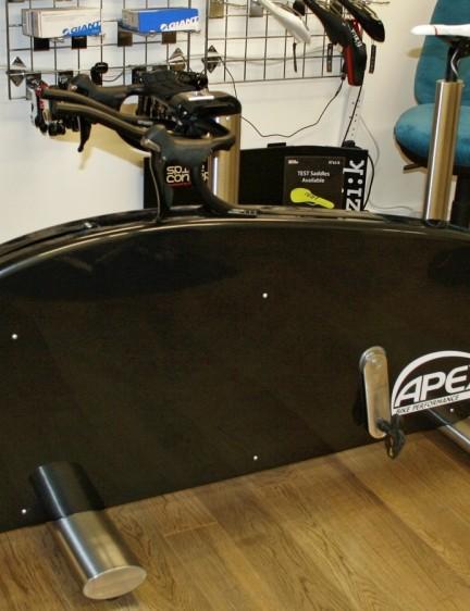 Meet the Apex bike fitting machine