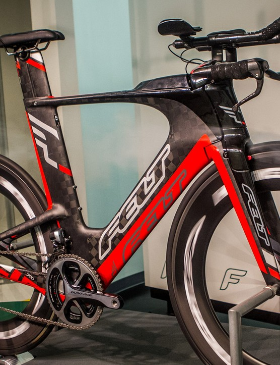 The Knight 95 tested on a Felt IA at the Faster wind tunnel in Arizona