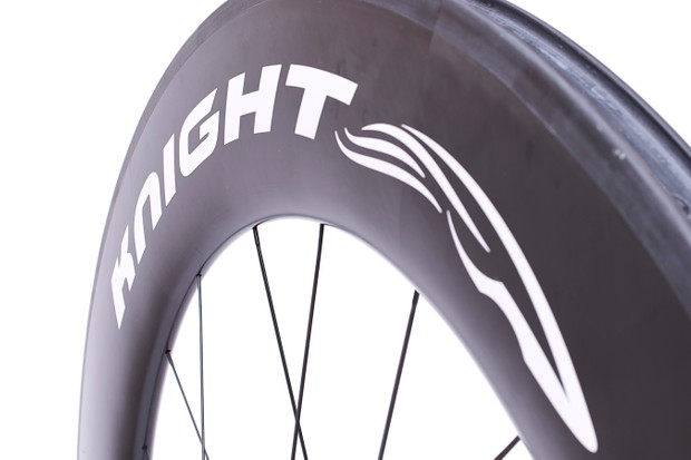 Knight Composites might be a new company, but says its wheels are the fastest in the world