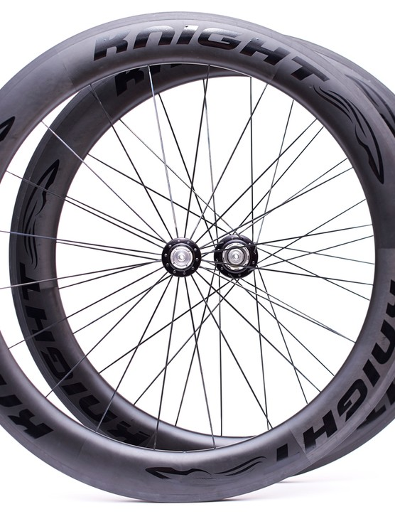 The Knight 65 carbon clinchers