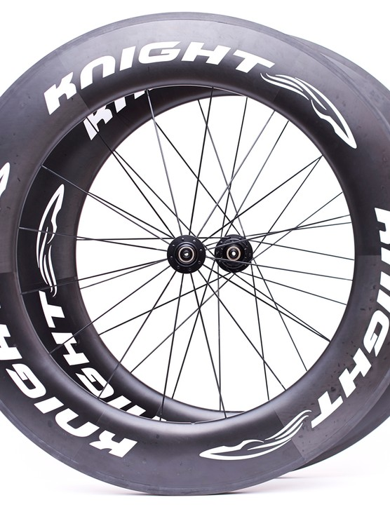 The Knight 95 carbon clinchers