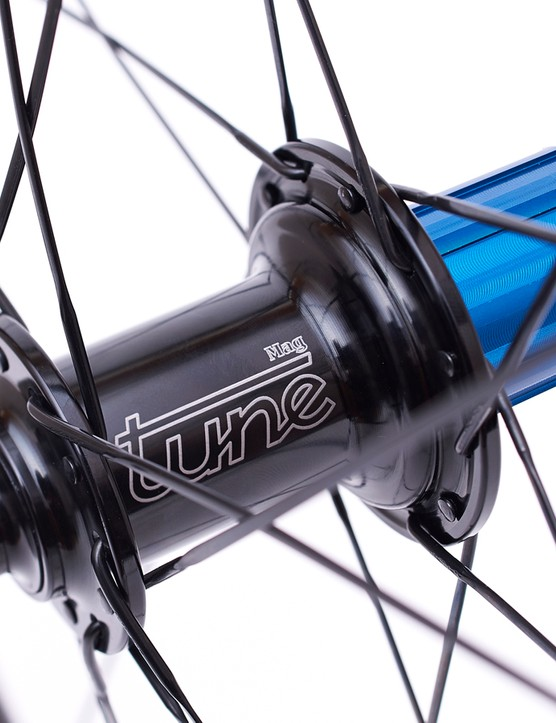 Tune hubs are also available as an upgrade