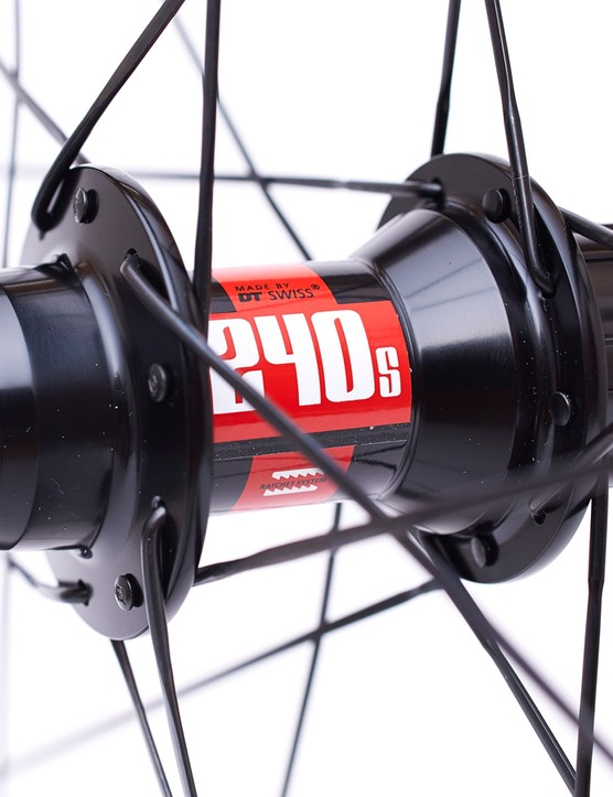 DT Swiss 240s hubs take care of keeping things rolling smoothly