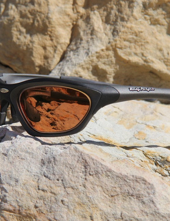 Sport RX makes custom perscription lenses for many popular brands of sports eyewear, including Rudy Project (shown here) Oakley and Smith