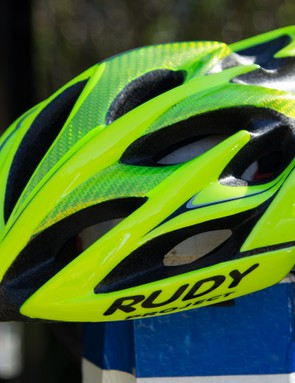 The Rudy Project Windmax is a pro-level lid with FybraTek reinforcement