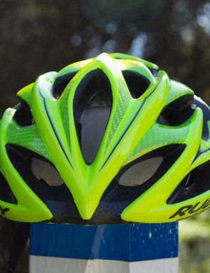 The Windmax features a total of 21 vents, including a massive frontal scoop