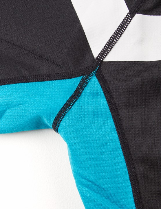 Flatlock stitching adds to the overall quality of this jersey