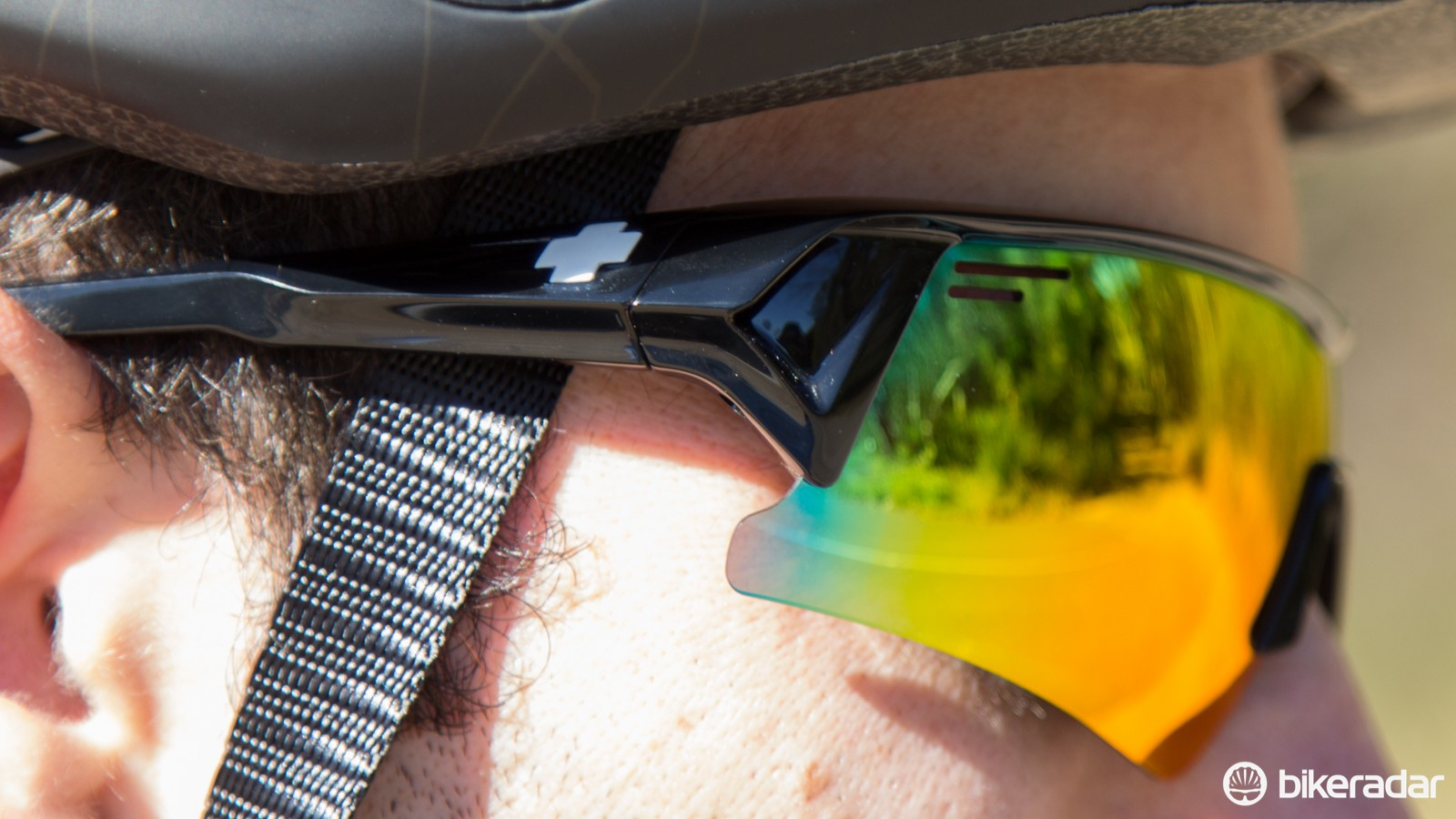Spy Optic Screw Over sunglasses offer plentiful face coverage
